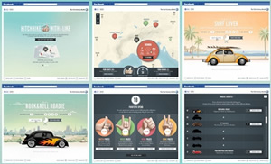 Volkswagen - Facebook Game